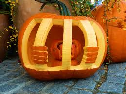 free images orange harvest halloween jack o lantern face