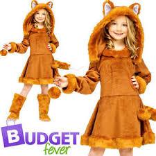 sweet fox girls animal world book week character fancy dress