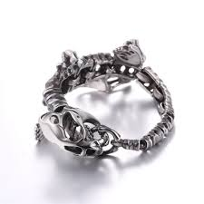 fossil bracelet men images Buy u7 punk dinosaur fossil bracelet men jewelry jpg
