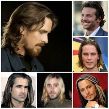 male celebrities with long hair men u0027s hairstyles and haircuts