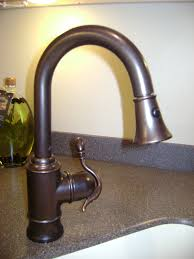 kitchen oil rubbed bronze kitchen faucet with pull down handle