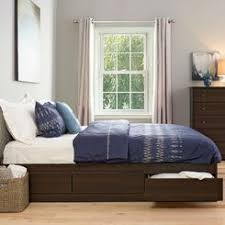 Platform King Bed With Storage King Platform Storage Bed Frame