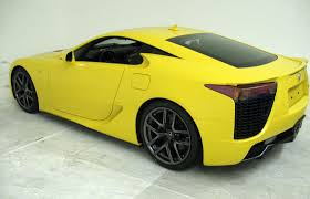 lexus lfa body kit first photos of the yellow lexus lfa lexus enthusiast