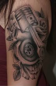 for my fellow gearhead women tattoos and piercings pinterest