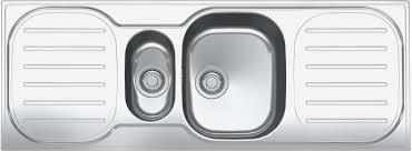 Franke  Bowl Stainless Steel Kitchen Sinks Plumbworld - Compact kitchen sinks stainless steel