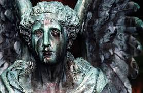 cemetery statues file cincinnati grove cemetery arboretum weeping angel