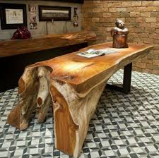 48 best tree trunks images on wood log benches and