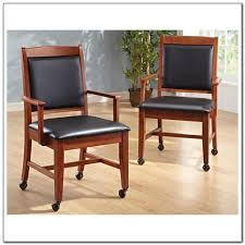 Kitchen Chairs With Arms by Kitchen Chairs Casters Wheels Kitchen Set Home Decorating