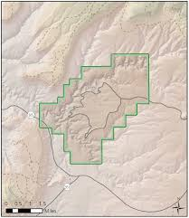 Colorado National Monument Map by Natural Bridges National Monument