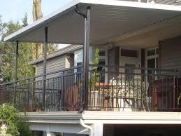balcony covering ideas home design