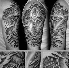 72 awesome badass cross tattoos ideas and designs golfian com