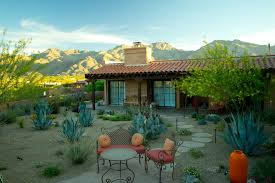 Mediterranean Backyard Landscaping Ideas Phoenix Desert Landscaping Ideas Patio Mediterranean With Rock
