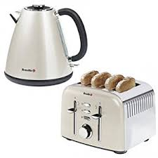 Sainsbury Toaster Breville Cream Kettle And Toaster U2013 Glass Dishes For Meat U0026 Dairy