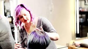 amanda fuller u0027s bmac scissor video short hair cut with fringe