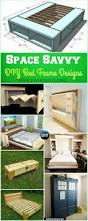 Space Saving Queen Bed Frame Best 25 Bed Frame Design Ideas On Pinterest Diy Bed Frame Diy