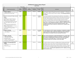 Project Daily Status Report Template Excel Project Update Template Thebridgesummit Co
