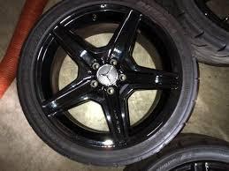 mercedes amg black rims amg black wheels for sale mbworld org forums