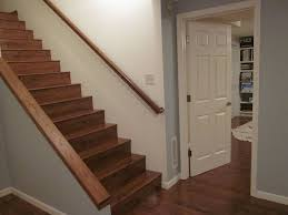 best paint for basement walls painted basement steps with board