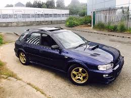 subaru turbo wagon subaru impreza turbo uk 2000 280bhp estate wagon classic in