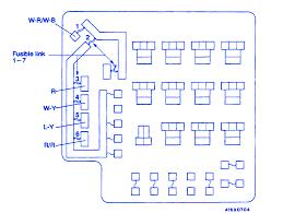 mitsubishi galant 1994 underhood fuse box block circuit breaker