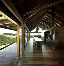 farm house design dramatic ceilings and glass walls define jamberoo farm house