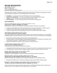 Best Qa Resume 2015 by R And D Test Engineer Sample Resume 22 Qa Sample Resume Qa Cv