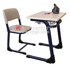 Wooden Student Desk Classroom Furniture Single Wooden Student Desk And Chair For