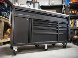 professional tool chests and cabinets husky tool box and workbench review back in black