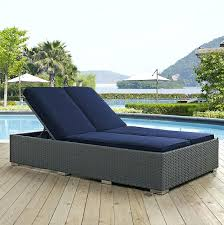 outdoor chaise lounges double lounge replacement cushions