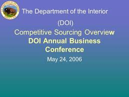 Department Of The Interior Doi Donald R Rainey Sr Cppb Vco Director Office Of General