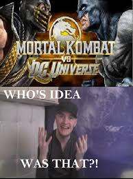mk fans react to mortal kombat vs dc universe by theforcemember101