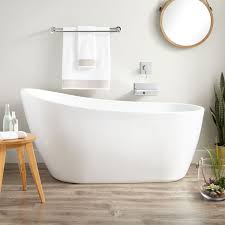 acrylic slipper tub bathroom