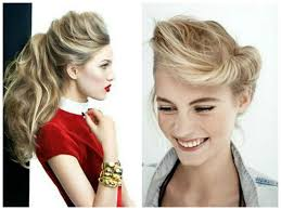 braided pompadour hairstyle pictures 5 messy updo hairstyle idea s for medium length or long hair