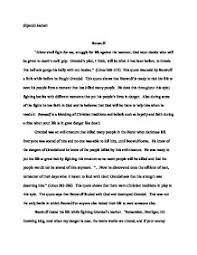 themes of beowulf poem beowulf risks his life for his people a number of times one of the