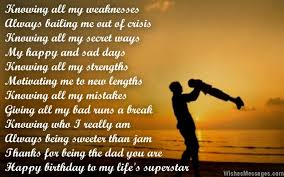 birthday poems for dad u2013 wishesmessages com