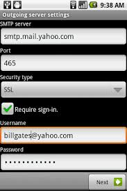 yahoo mail android how to setup yahoo mail in android khimhoe net