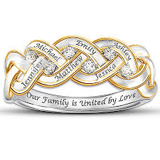 family ring family rings for 10 personalized rings will