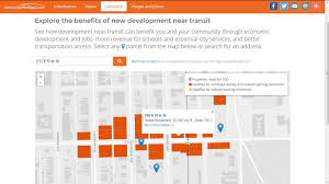 how open data can help encourage more transit oriented development