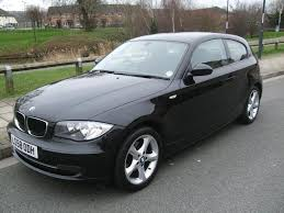 black bmw 1 series used bmw 1 series 2008 diesel 118d edition es hatchback black with