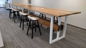 Large Conference Table Crafted Contemporary Reclaimed Wood And Steel Trestle