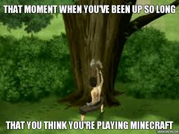 Tree Meme - aang stop punching the tree this isn t minecraft by ondreya