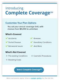 Comfort Insurance Reviews Pet Insurance For Dogs U0026 Cats With Aspca Pet Health Insurance