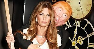 Donald Trump Halloween Costume Jemima Khan U0027s Halloween Ball Costume Trump Groping Melania