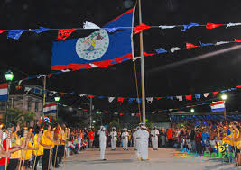 My National Flag The Belize National Flag My Beautiful Belize