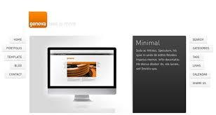 40 minimalist wordpress themes 2016 web u0026 graphic design bashooka