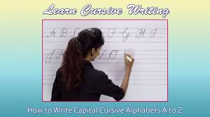 how write cursive handwriting cursive writing for beginners writing cursive alphabets