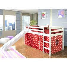 kids bed slide image of high loft bed with slide kids room