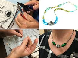 Tools For Jewelry Making Beginner - beginner creations at my iguana beads class learning and