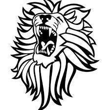 roaring lion clipart free clipartxtras