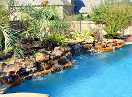 rock waterfalls for pools gorgeous rock swimming pools on rock waterfalls low profile rock
